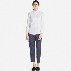 Uniqlo striped EZY ankle pull on pants XL